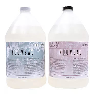 Nouveau Faux Rizzle Resin is available in different quantities.